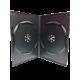 DVD CASE FOR 2 DVD (BLACK) 1PKT=10PCS