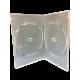 DVD SLIM CASE 2 DVD (TRANSPARENT) 1PKT=10PCS