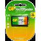 GP RECHARGEABLE BATTERY 9V 1P/CARD 200mAh 8.4V